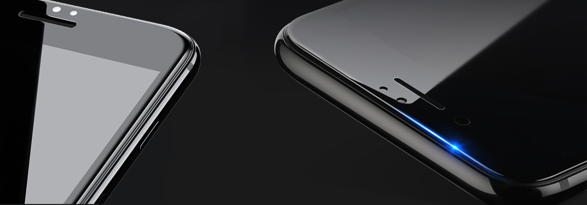 Szkło BENKS V PRO Apple iPhone 7/8 - Zestaw zawiera