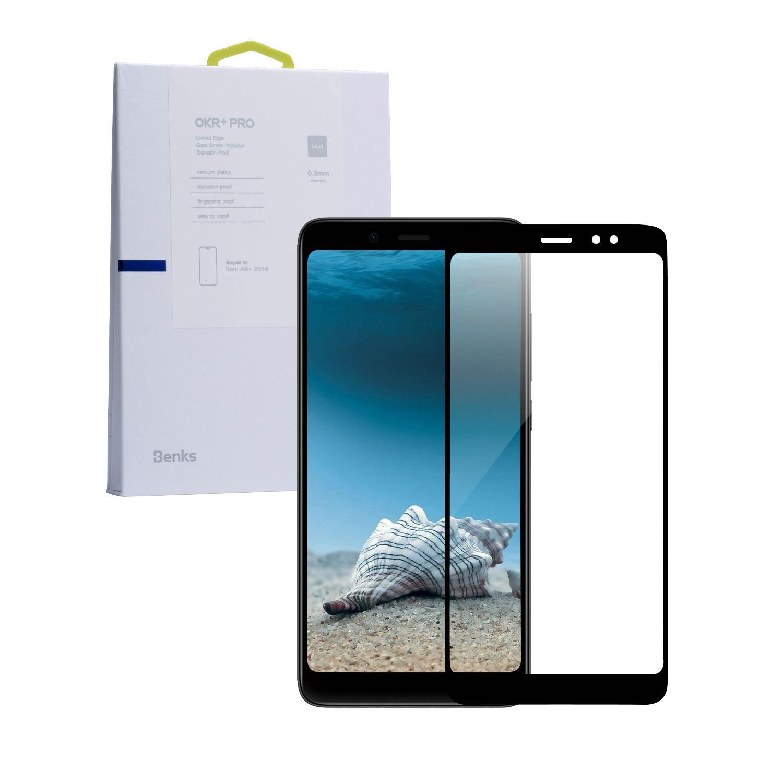 SZKŁO HARTOWANE BENKS MAGIC OKR+ PRO dla Samsung Galaxy A6 PLUS 2018 -