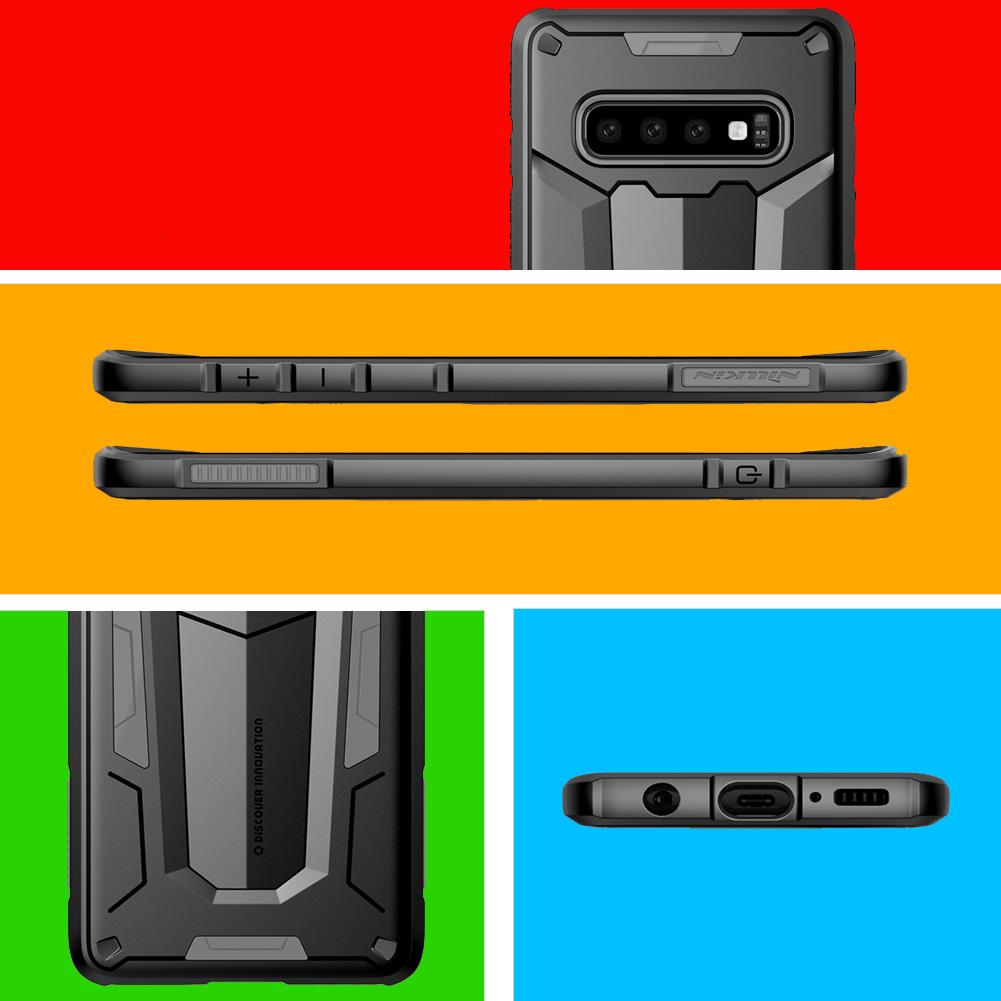 Etui Pancerne Nillkin Defender II dla Samsung Galaxy S10 - Specyfikacja: Etui Pancerne Nillkin Defender II Galaxy S10
