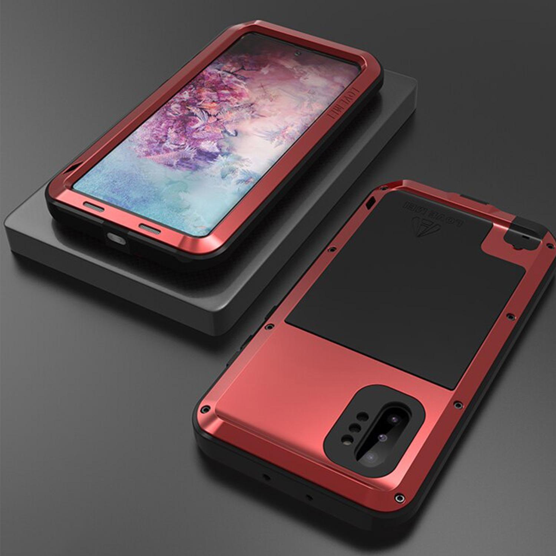 Etui Love Mei dla Samsung Galaxy Note 10 Plus - Specyfikacja: Etui PANCERNE Love Mei Samsung Galaxy Note 10 Plus Red