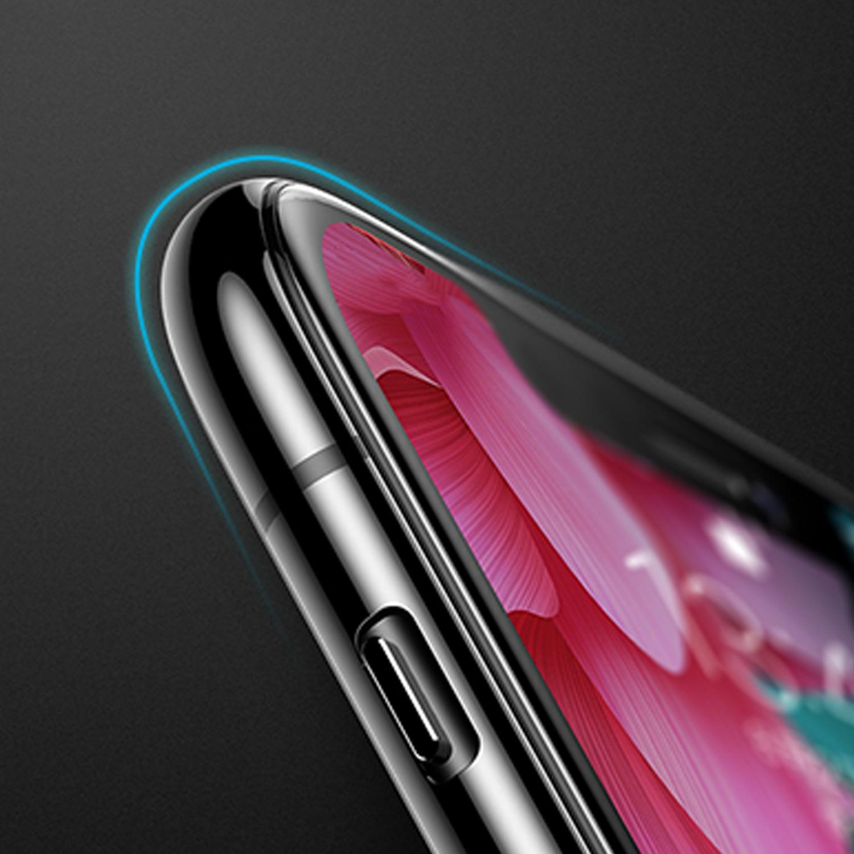 Szkło hartowane BENKS X PRO+ 3D dla Apple iPhone XR - Super cieńkie