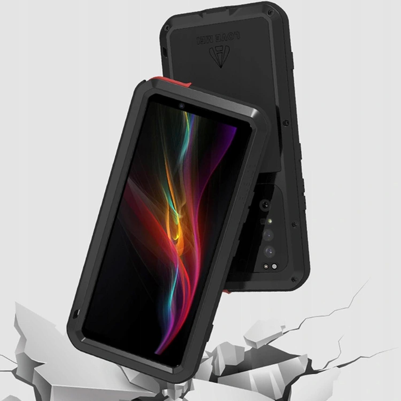 Etui Love Mei dla Sony Xperia 1 II - Specyfikacja: Etui PANCERNE Love Mei do Sony Xperia 1 II