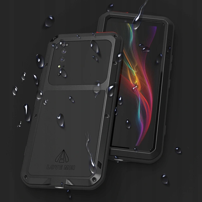 Etui Love Mei dla Sony Xperia 1 II - Ochrona soczewki aparatu