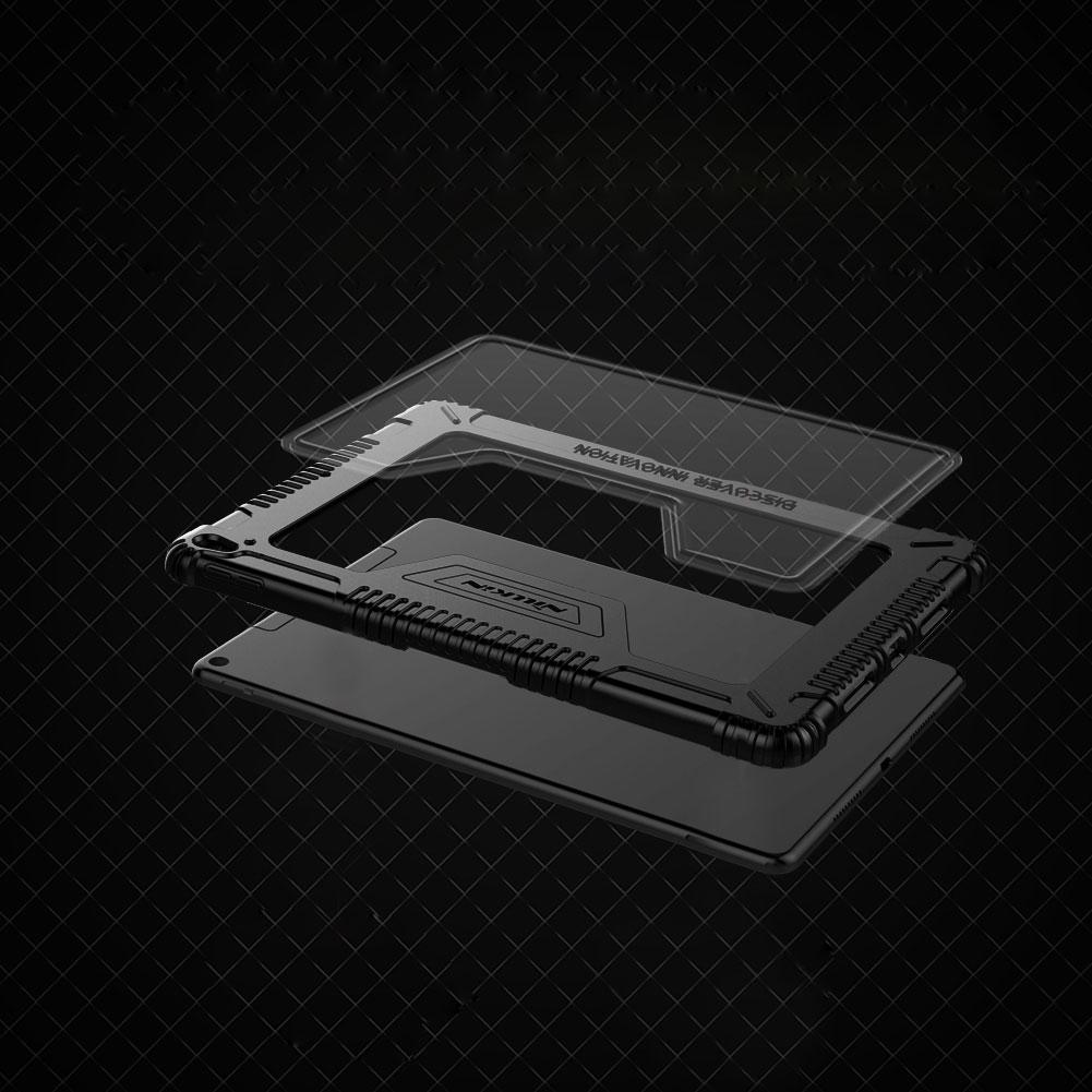 Etui Nillkin Bumper dla Apple iPad Air 2019 / 10.5 2017 - Transparentne plecki