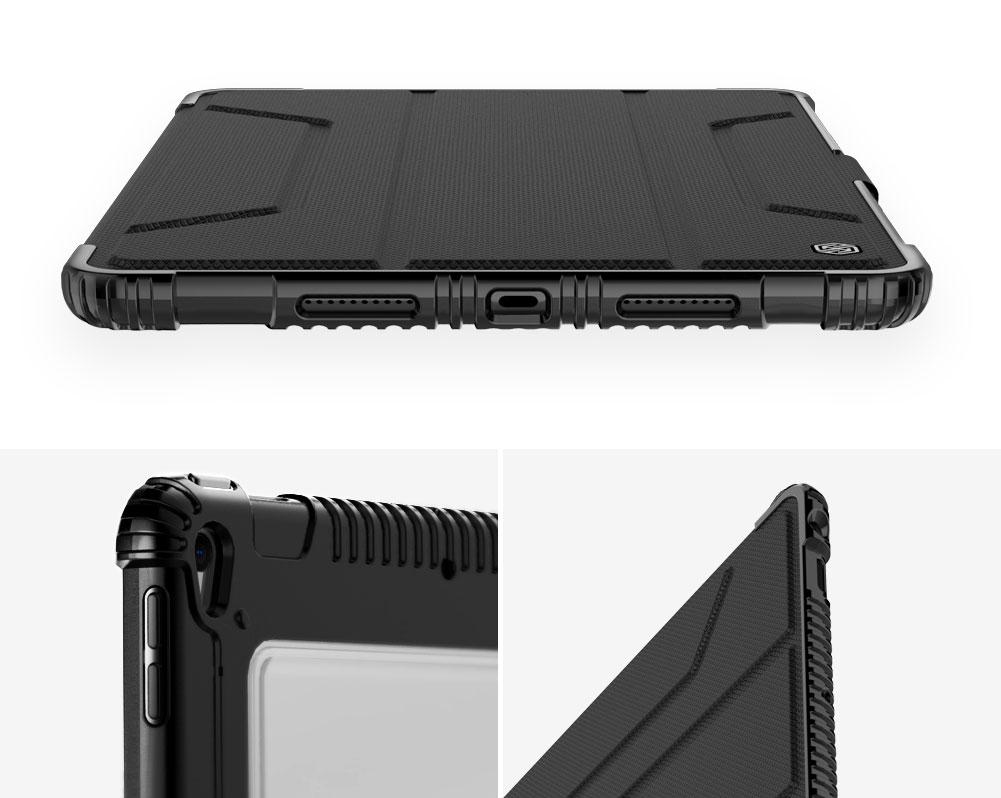 Etui Nillkin Bumper dla Apple iPad Air 2019 / 10.5 2017 - Specyfikacja: [PG]Etui Nillkin Bumper Apple iPad AIR 2019 / 10.5 2017