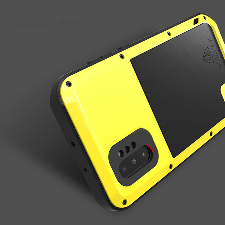 Etui Love Mei dla Samsung Galaxy Note 10 Plus - Specyfikacja: Etui PANCERNE Love Mei Samsung Galaxy Note 10 Plus Yellow
