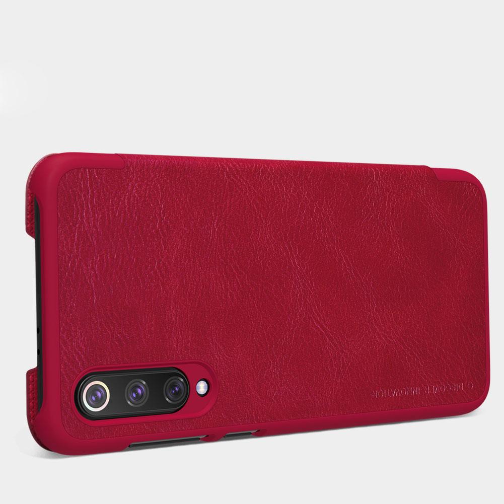 Etui Nillkin QIN dla Xiaomi Mi 9 SE - Specyfikacja: Etui skórzane Nillkin QIN Xiaomi Mi 9 SE