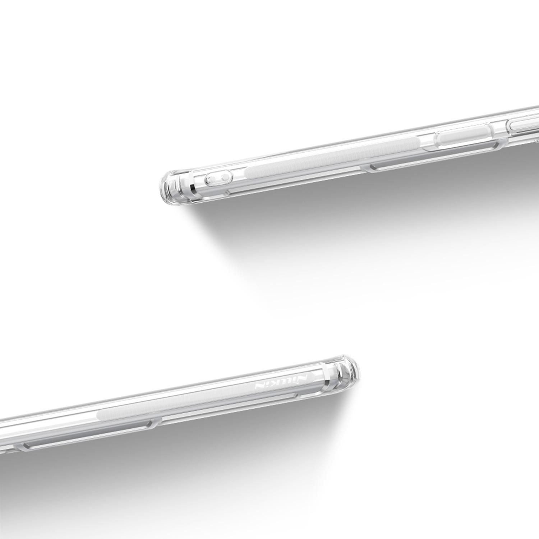 Etui Nillkin Nature dla Xiaomi  Poco F3 5G - Antypoślizgowe elementy ułatwiające chwyt