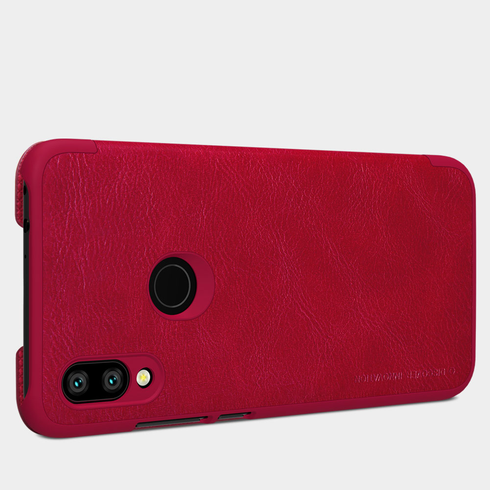 Etui Nillkin QIN dla Xiaomi Redmi 7 - Specyfikacja: [PG]Etui skórzane Nillkin QIN Xiaomi Redmi 7