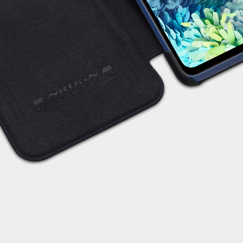 Etui Nillkin QIN dla Samsung Galaxy S20 FE 2020 - Ochrona i wysoki komfort użytkowania