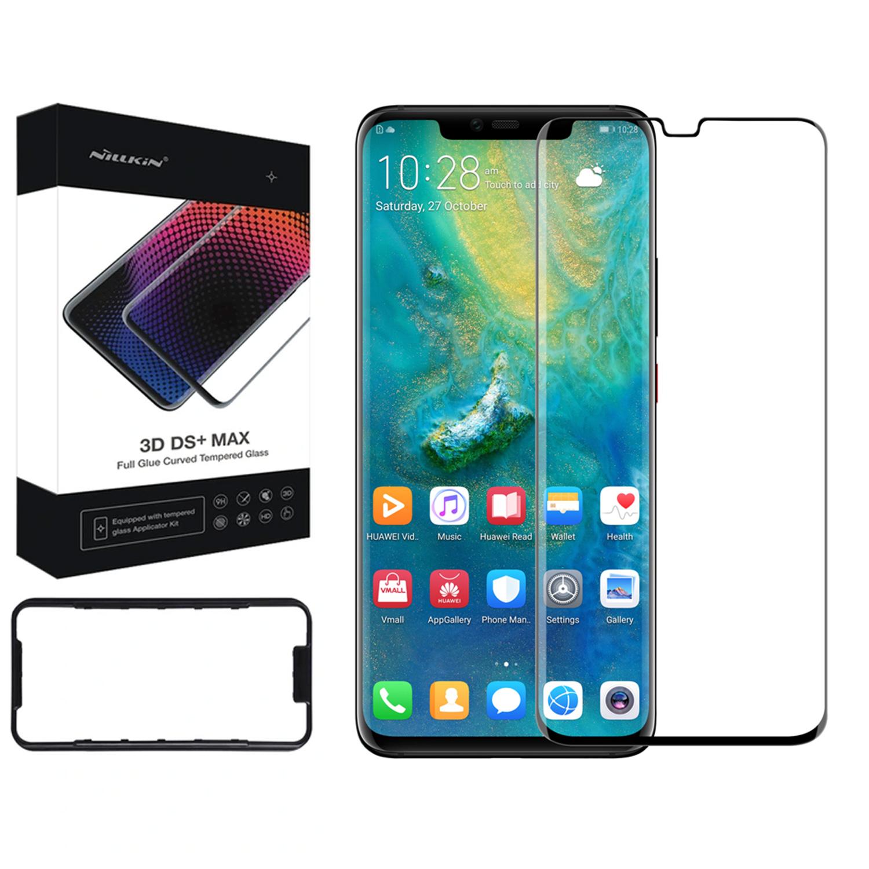Szkło NILLKIN Full Glue 3D DS+ MAX dla Huawei Mate 20 PRO -