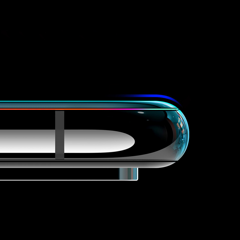 Szkło NILLKIN Full Glue 3D DS+ MAX dla Huawei Mate 20 PRO - Szkło skonstruowane zostało w taki sposób, aby być kompatybilne z praktycznie każdym etui dostępnym na rynku, z tego powodu, nie pokrywa ono w całości bocznych krawędzi ekranu