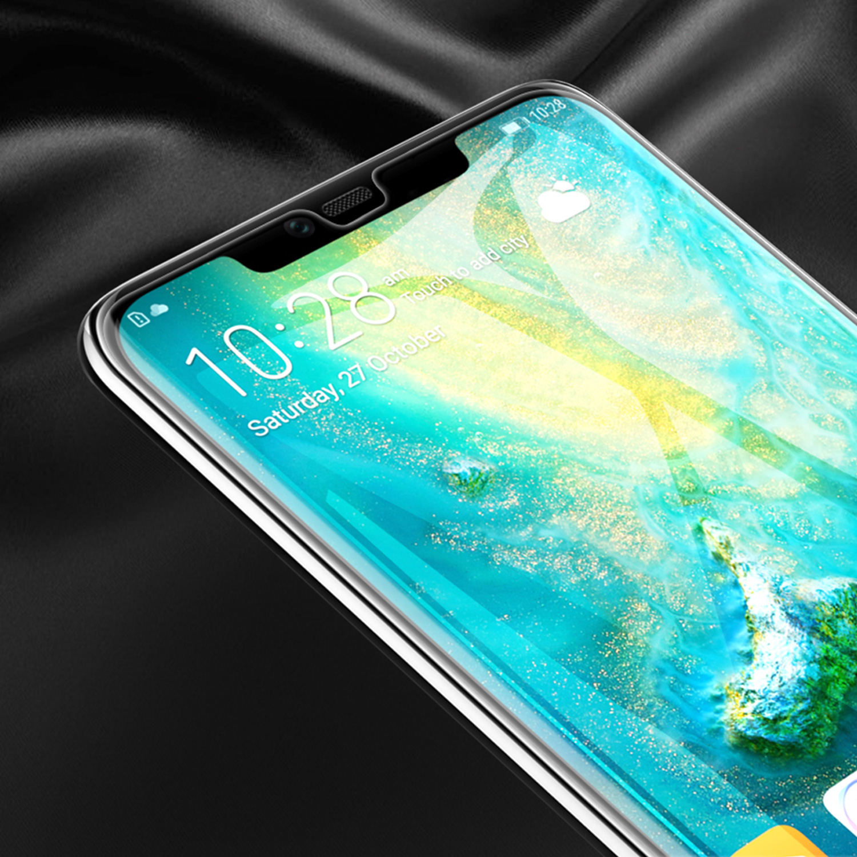Szkło NILLKIN Full Glue 3D DS+ MAX dla Huawei Mate 20 PRO - Seria DS+ MAX 3D - świetna jakość, idelne dopasowanie oraz prosta aplikacja
