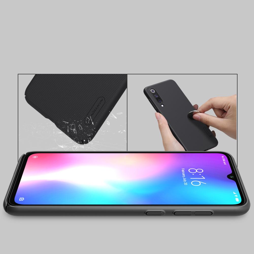 Etui Nillkin Frosted Shield dla Xiaomi Mi 9 SE - Doskonale leży w dłoni