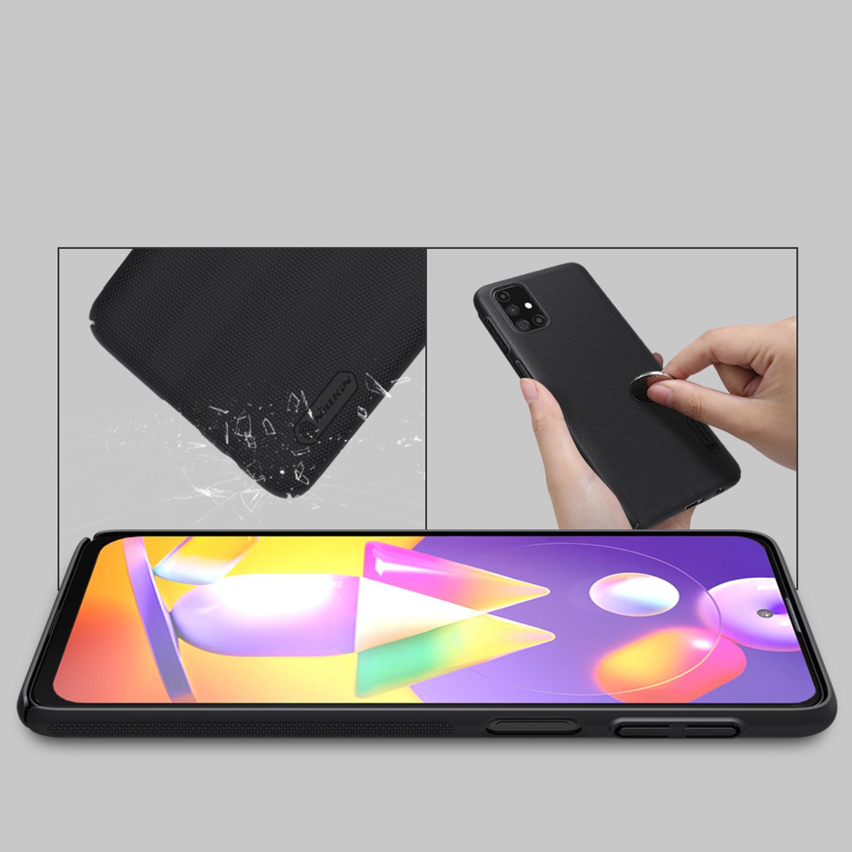 Etui Nillkin Frosted Shield dla Samsung Galaxy M31s - Wytrzymałe, odporne, szykowne !