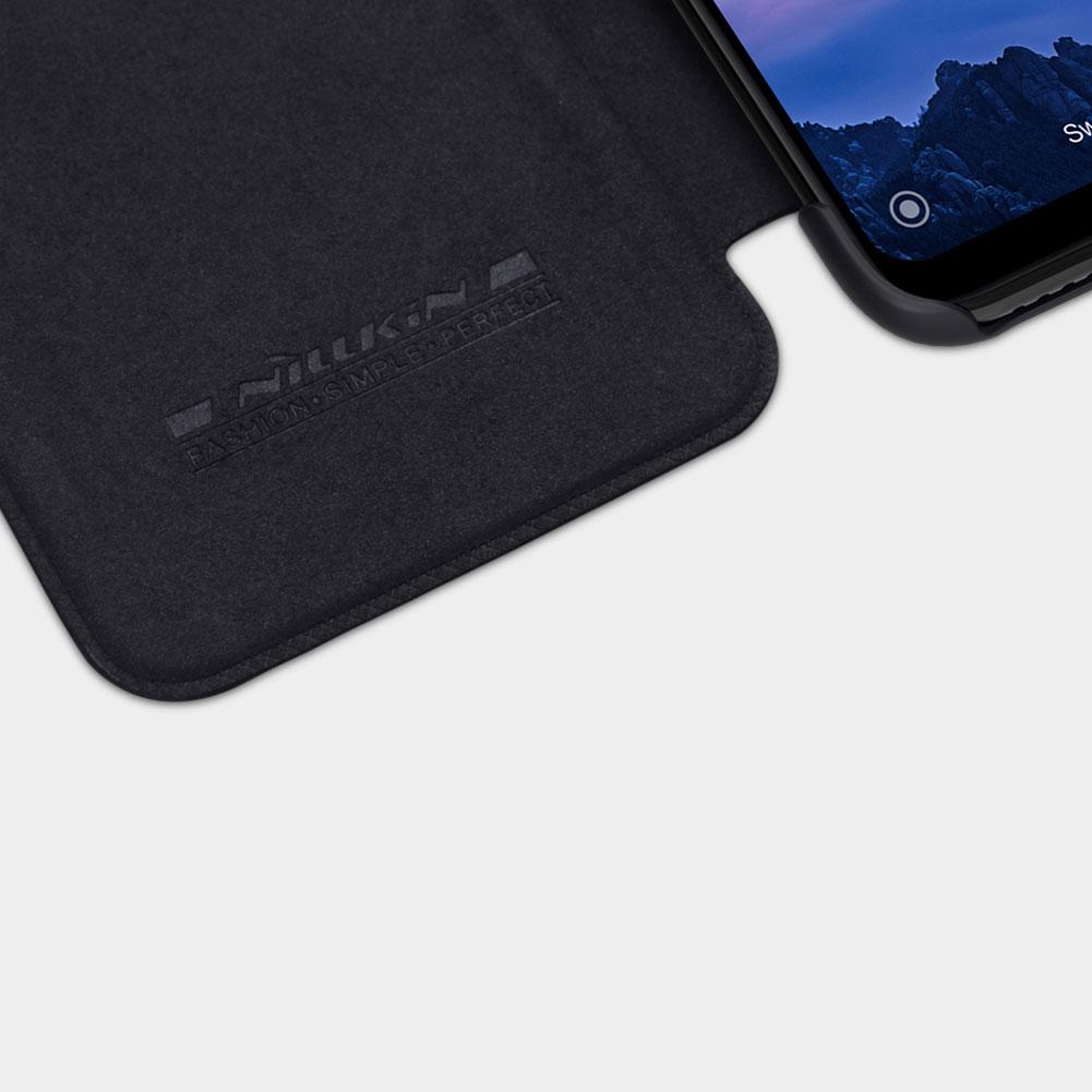 Etui Nillkin QIN dla Xiaomi Redmi 7 - Zamykana klapka - świetna ochrona oraz niecodzienny design