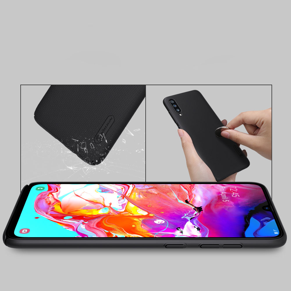 Etui Nillkin Frosted Shield dla Samsung Galaxy A70 - Zawartość zestawu: