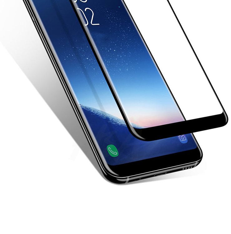 Szkło hartowane 3D MOCOLO dla Samsung Galaxy S9 - ramka w kolorze czarnym - Główne cechy produktu: