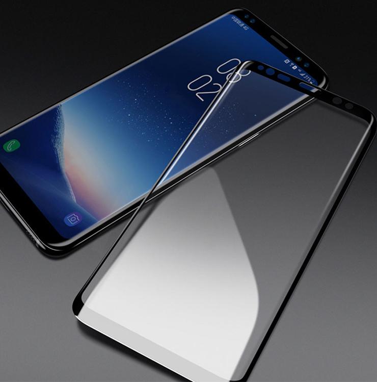 Szkło hartowane 3D MOCOLO dla Samsung Galaxy S9 - ramka w kolorze czarnym - Zestaw zawiera