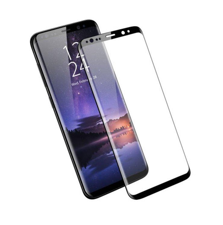 Szkło hartowane 3D MOCOLO dla Samsung Galaxy S9 - ramka w kolorze czarnym -