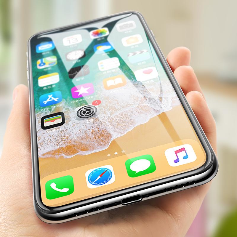 Szkło BENKS V PRO iPhone X - Super cienkie szkło hartowane
