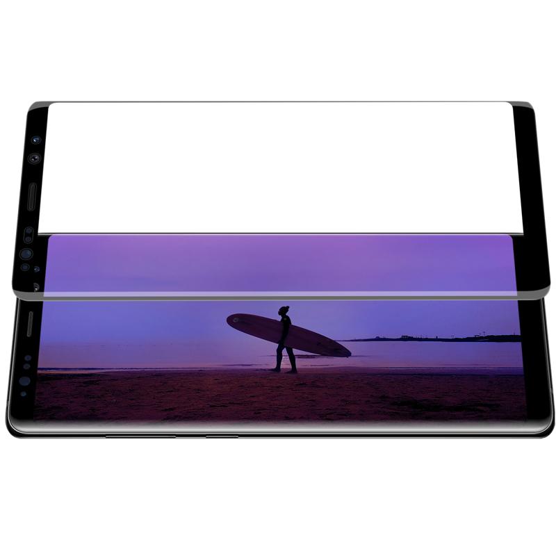 Szkło NILLKIN Full Glue 3D DS+ MAX dla Samsung Galaxy Note 8 - Seria DS+ MAX 3D - świetna jakość, idelne dopasowanie oraz prosta aplikacja