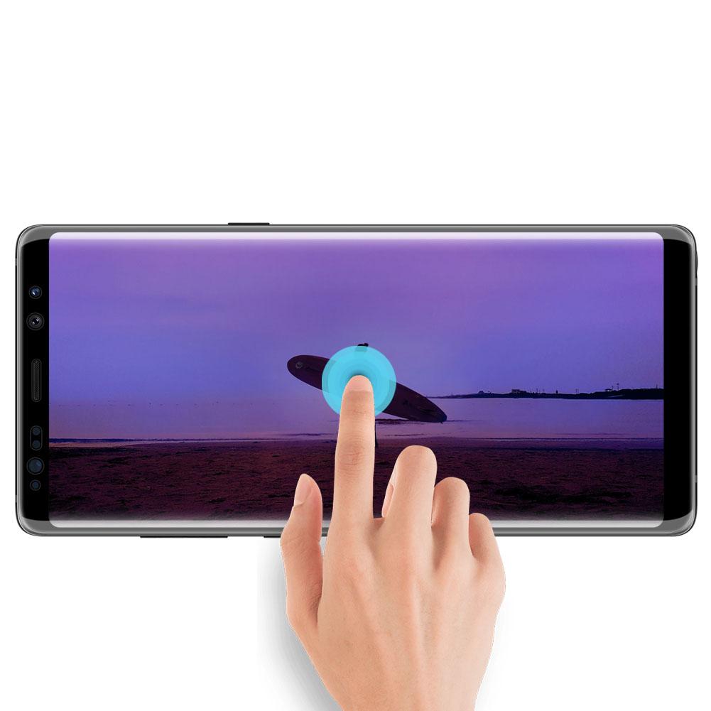 Szkło NILLKIN Full Glue 3D DS+ MAX dla Samsung Galaxy Note 8 - Super cienkie