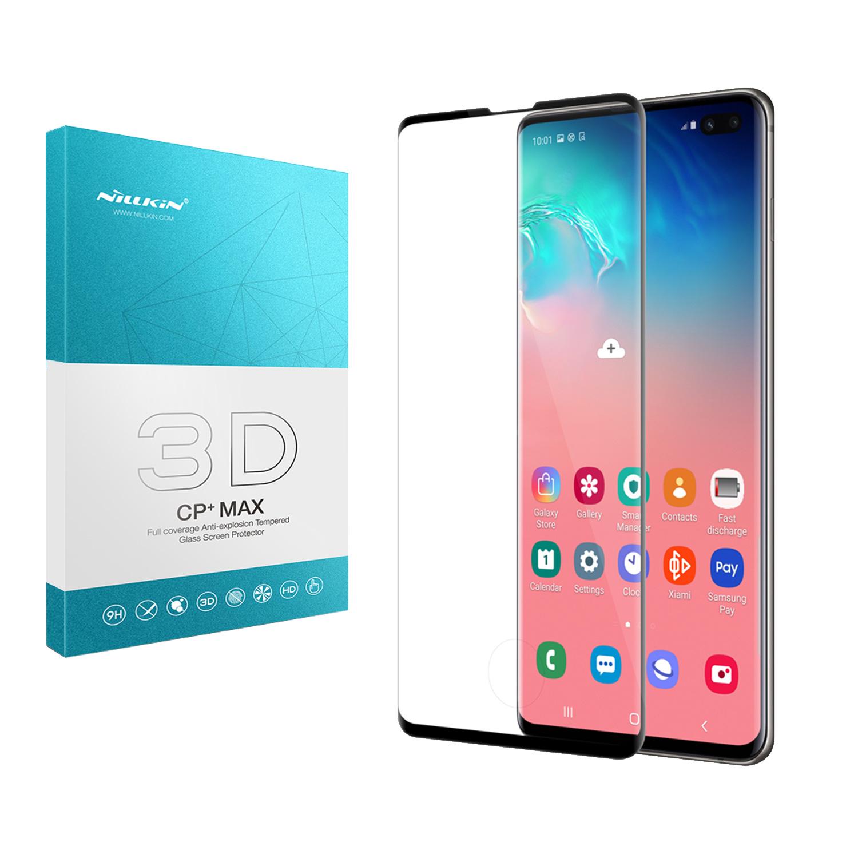 Szkło NILLKIN 3D CP+ MAX dla Samsung Galaxy S10 Plus -