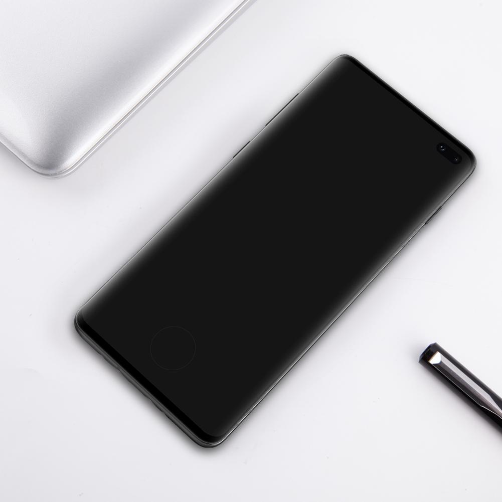 Szkło NILLKIN 3D CP+ MAX dla Samsung Galaxy S10 Plus - Seria CP+ MAX 3D - światna jakość, idelne dopasowanie oraz prosta aplikacja