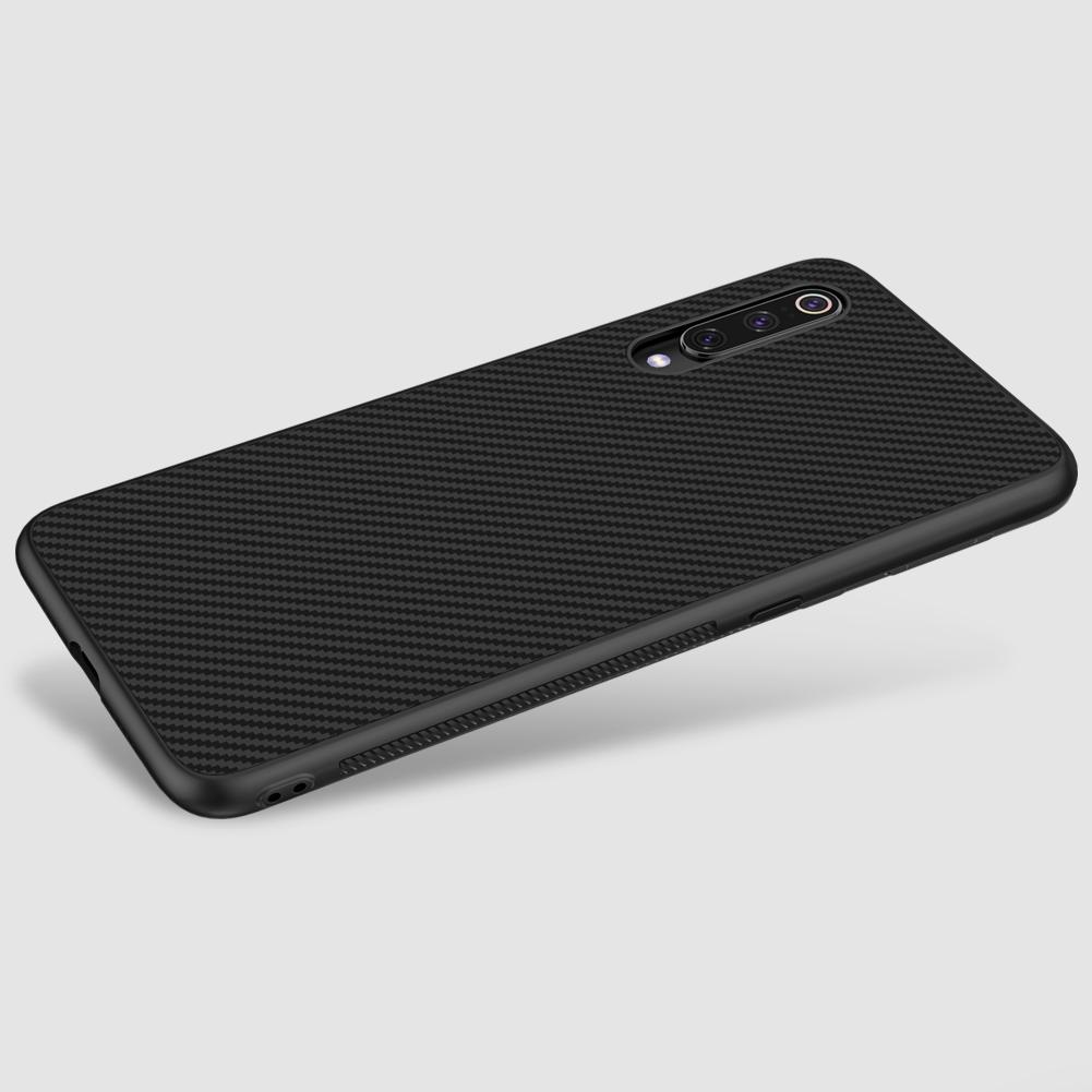 Etui Nillkin Synthetic Fiber dla Xiaomi Mi 9 - Wysokiej jakości włókno węglowe