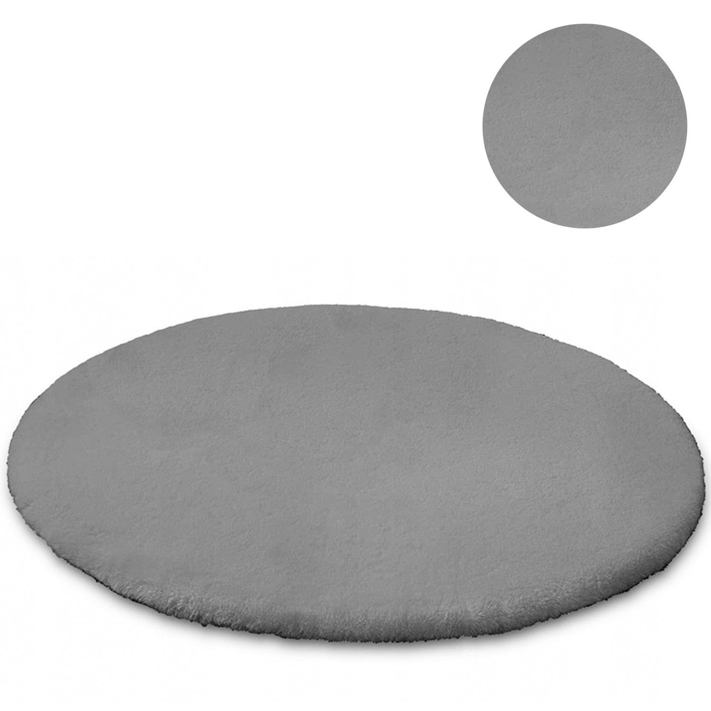 Dywan okrągły Rabbit Strado 120x120 White (Biały) Biały