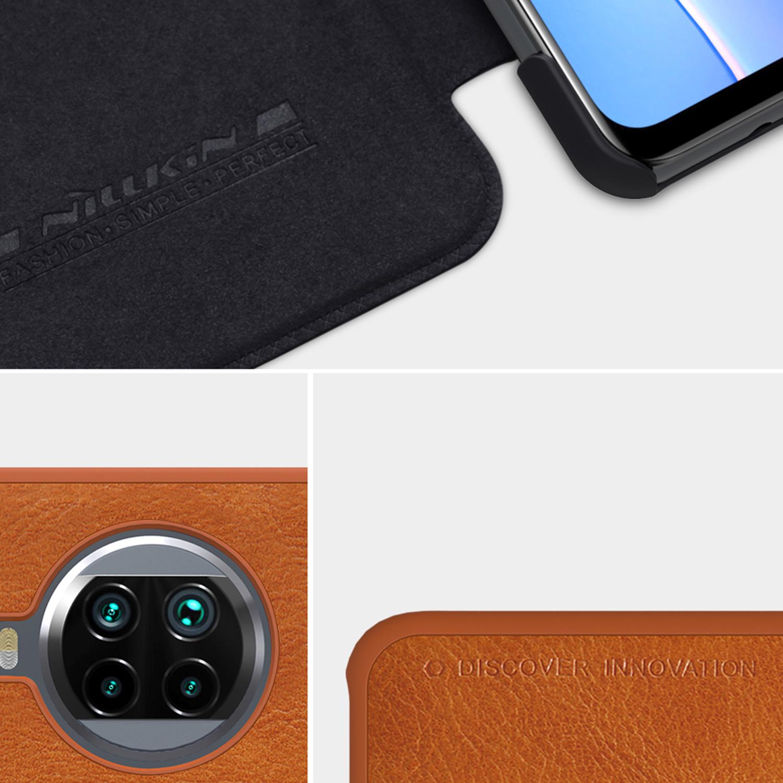 Etui Nillkin QIN dla Xiaomi Mi 10T Lite 5G - Zalety, które pokochasz. Zostań z serią Qin na dłużej!