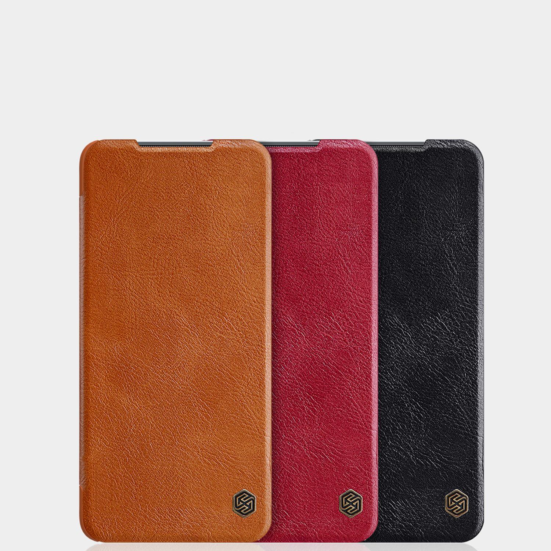 Etui Nillkin QIN dla Xiaomi Mi 10T Lite 5G - Specyfikacja: Etui Nillkin QIN do Xiaomi Mi 10T Lite 5G Black