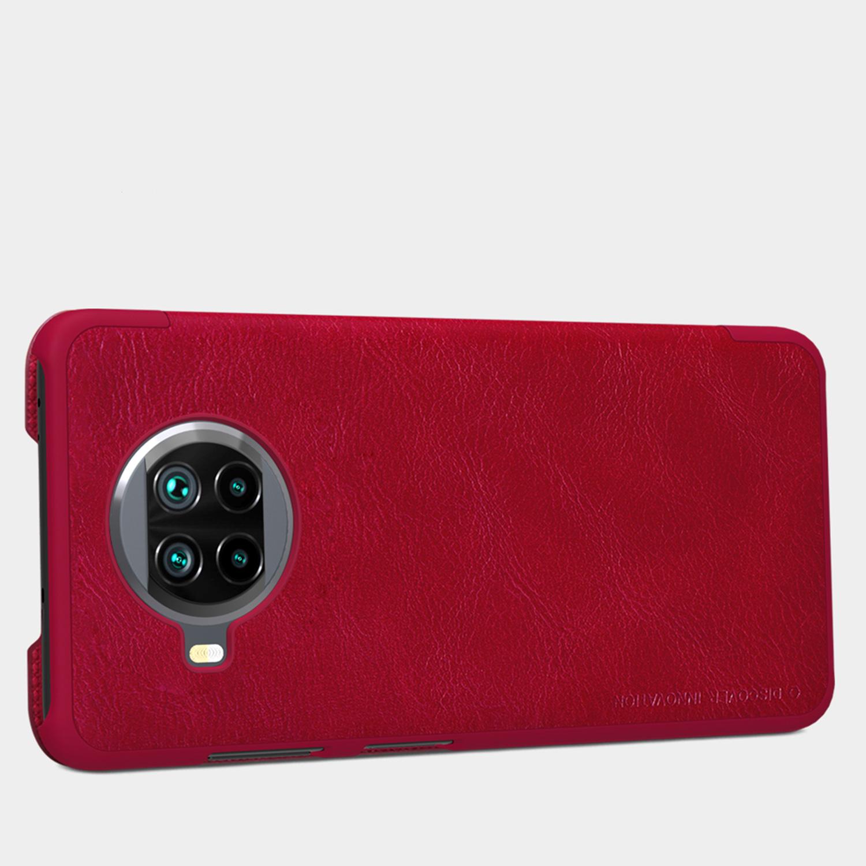Etui Nillkin QIN dla Xiaomi Mi 10T Lite 5G - Zamykana klapka - świetna ochrona oraz niecodzienny design