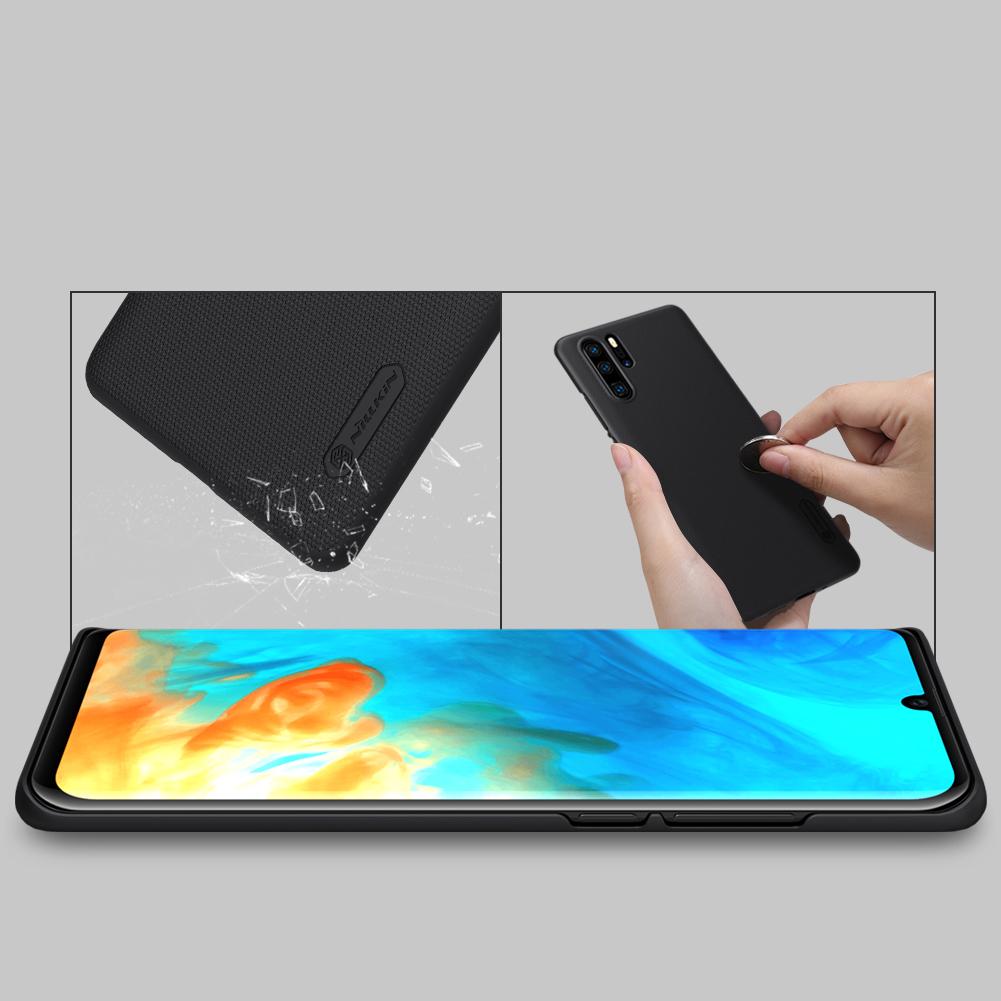 Etui Nillkin Frosted Shield dla Huawei P30 PRO - Wytrzymałe, odporne, szykowne !