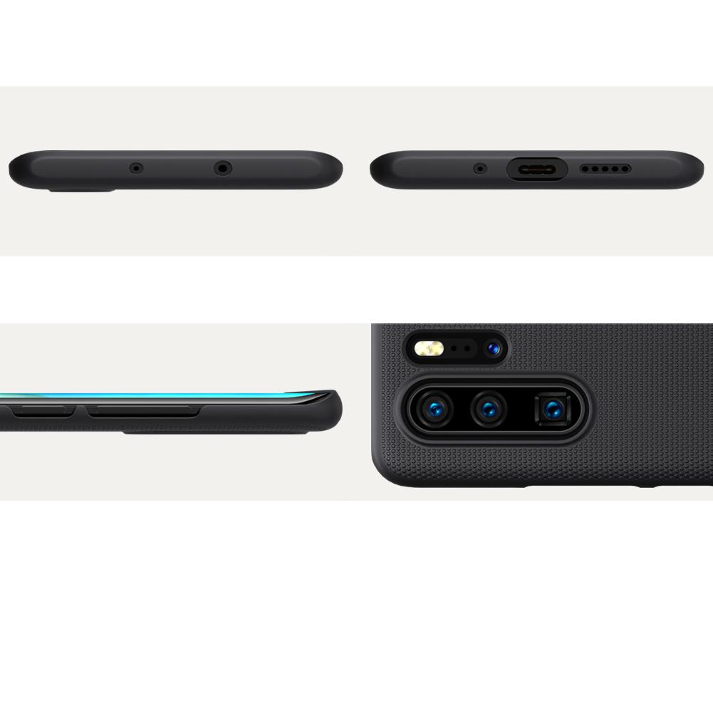 Etui Nillkin Frosted Shield dla Huawei P30 PRO - Doskonale leży w dłoni