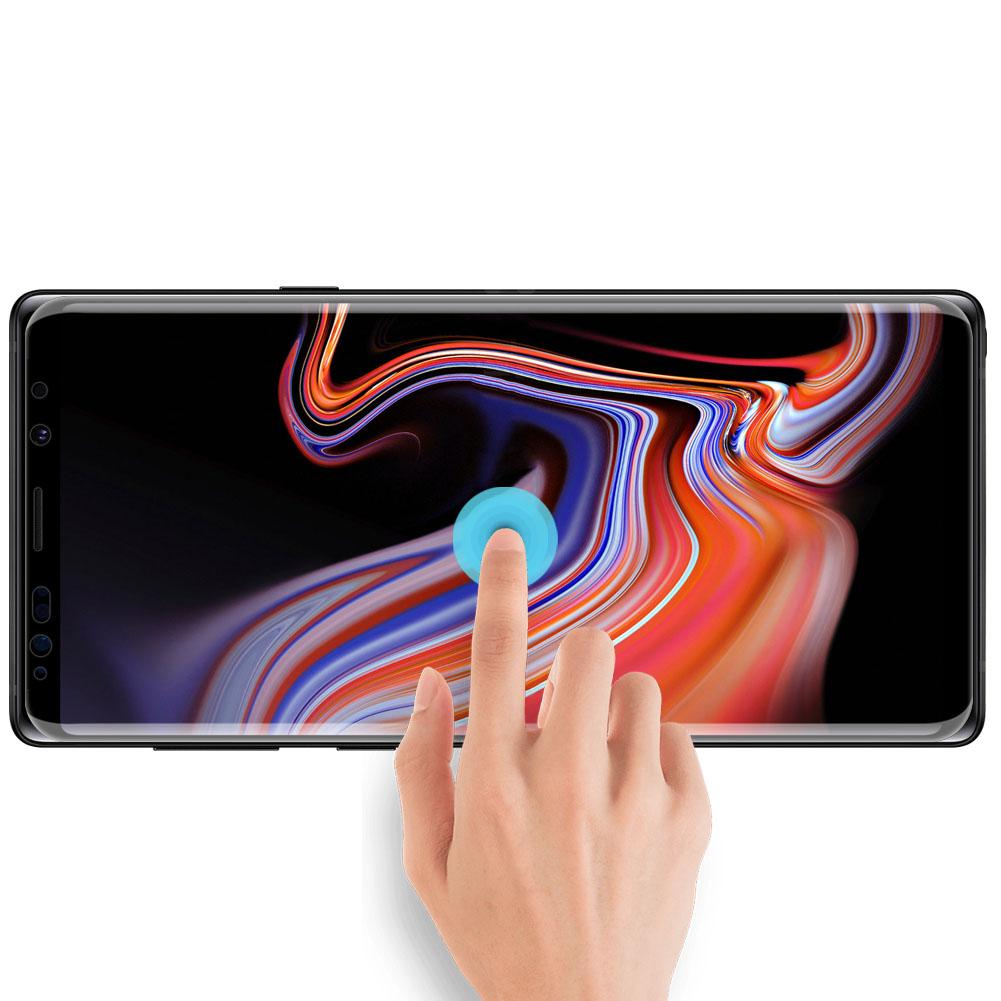 Szkło NILLKIN Full Glue 3D DS+ MAX dla Samsung Galaxy Note 9 - Super cienkie