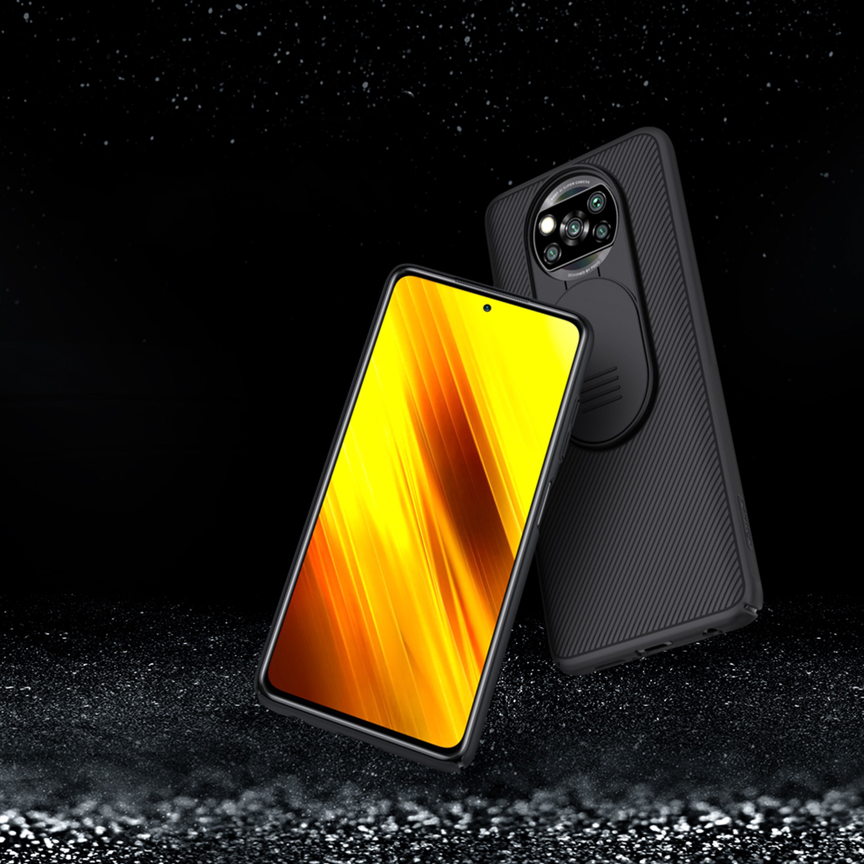 Etui Nillkin Camshield Xiaomi Poco X3 NFC/ X3 PRO - Specyfikacja: Etui Nillkin CamShield do Xiaomi Poco X3 NFC/ X3 PRO