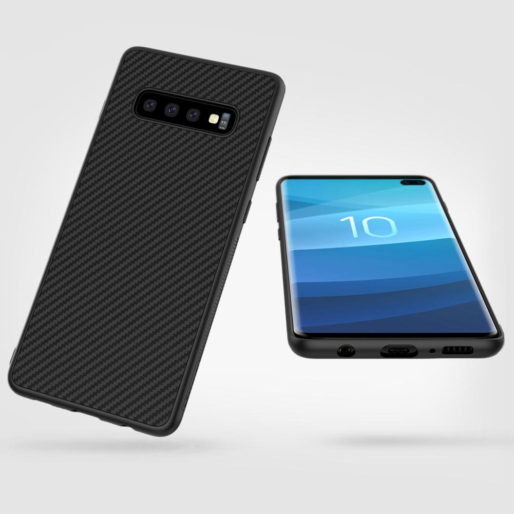 Etui Nillkin Synthetic Fiber dla Samsung Galaxy S10 Plus - Nillkin Synthetic Fiber - Etui które pokochasz.