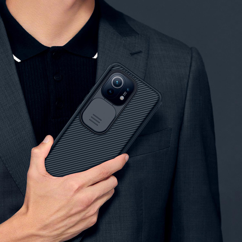 Etui Nillkin Camshield Xiaomi Mi 11 - Specyfikacja: Etui Nillkin CamShield do Xiaomi Mi 11 Blue