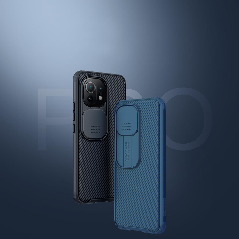 Etui Nillkin Camshield Xiaomi Mi 11 - Zestaw zawiera