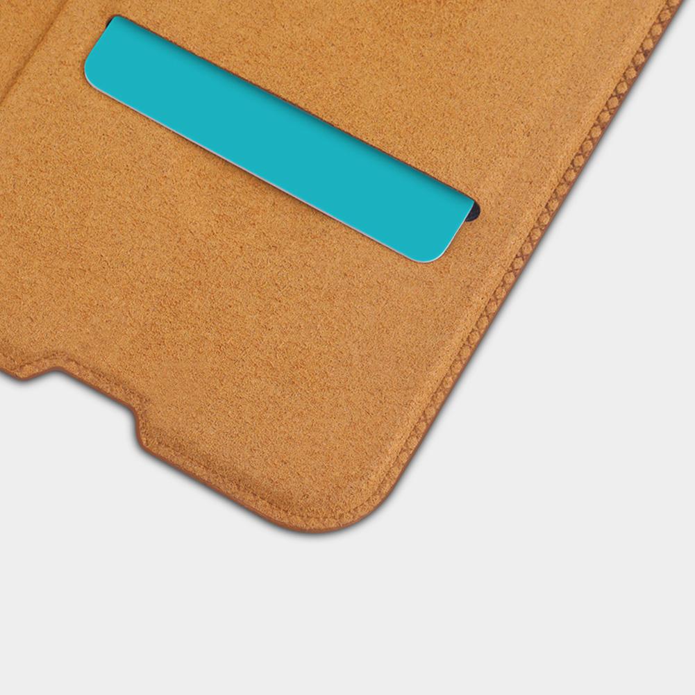 Etui Nillkin QIN dla Samsung Galaxy A50 - Zamykana klapka - świetna ochrona oraz niecodzienny design