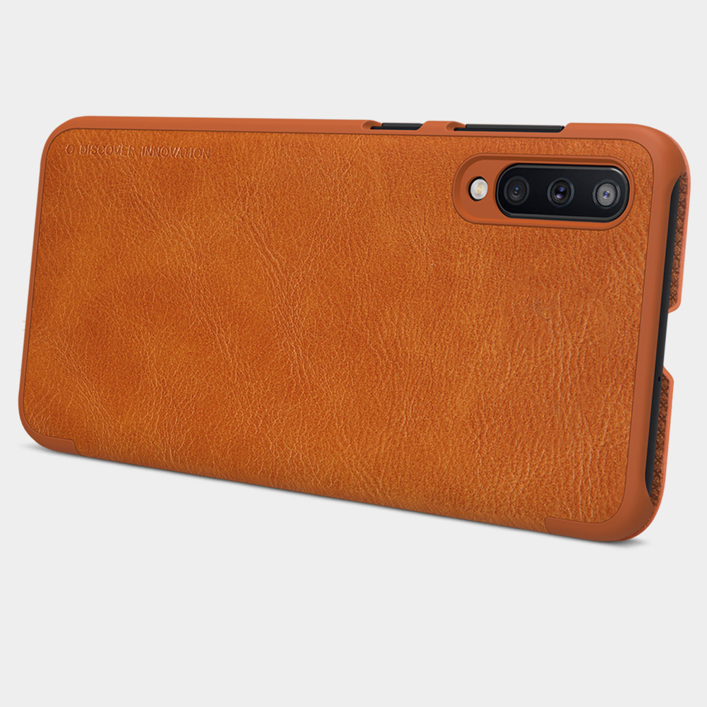 Etui Nillkin QIN dla Samsung Galaxy A50 - Ochrona i wysoki komfort użytkowania