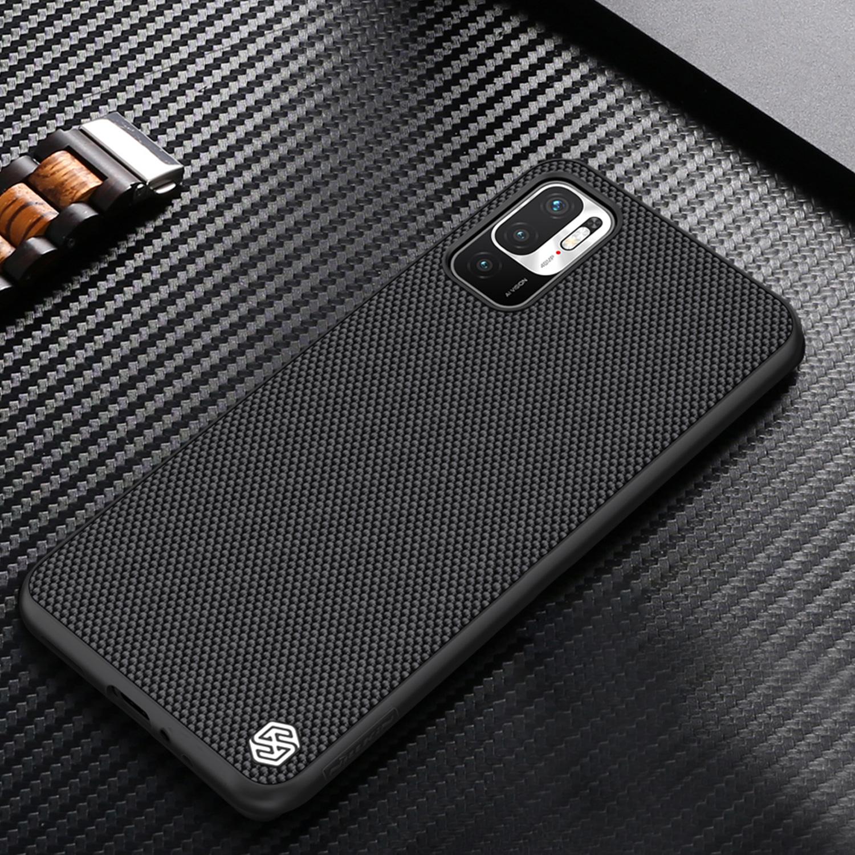 Etui Nillkin Textured dla Xiaomi Redmi Note 10 5G - Etui idealnie leży w dłoni