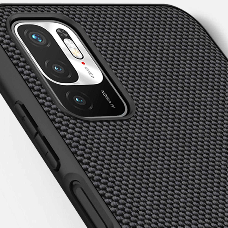 Etui Nillkin Textured dla Xiaomi Redmi Note 10 5G - Ochrona rantów urządzenia