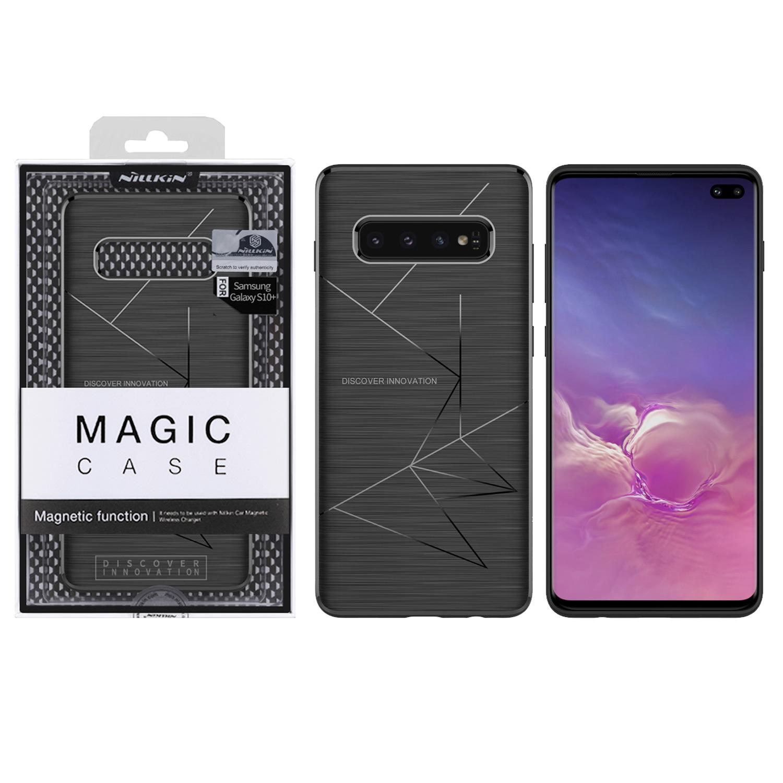 Etui Nillkin Magic Case wspierające ładowanie indukcyjne dla Samsung Galaxy S10 Plus -
