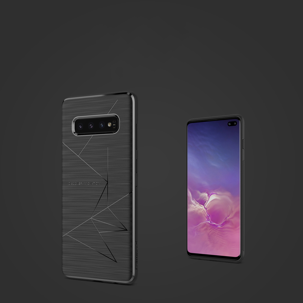 Etui Nillkin Magic Case wspierające ładowanie indukcyjne dla Samsung Galaxy S10 Plus - Zestaw zawiera