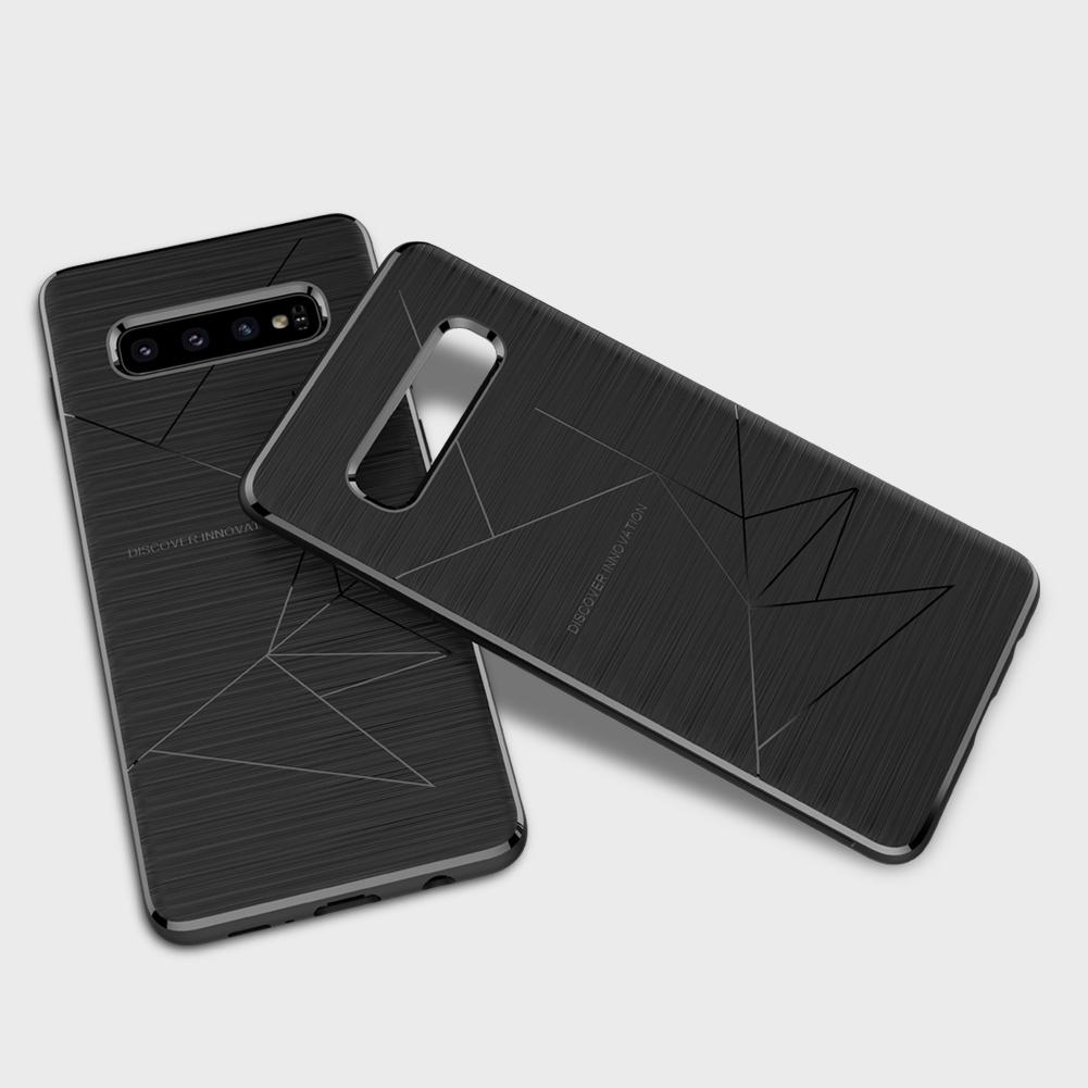 Etui Nillkin Magic Case wspierające ładowanie indukcyjne dla Samsung Galaxy S10 Plus - Specyfikacja: Etui NILLKIN Magic Case QI Galaxy S10 Plus
