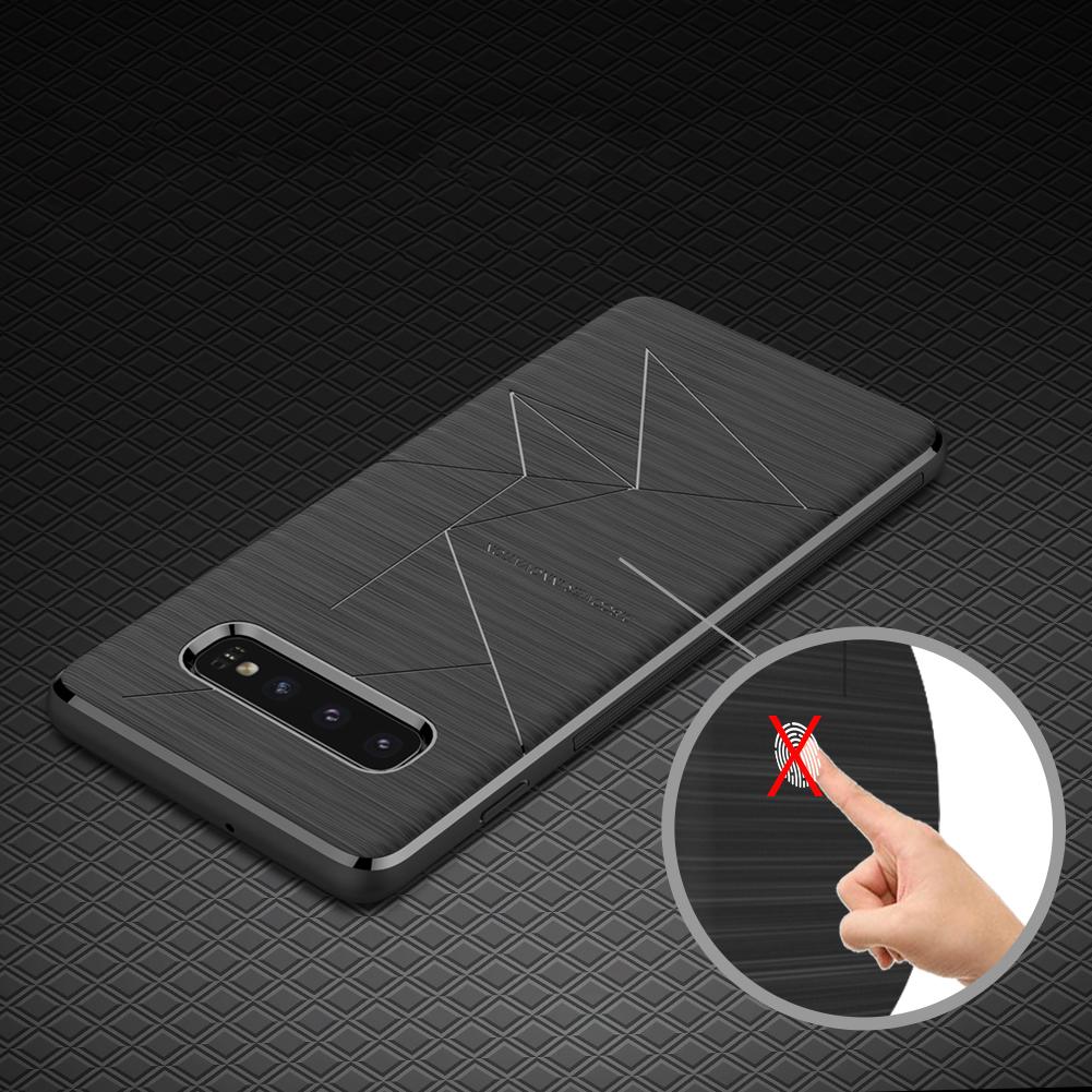 Etui Nillkin Magic Case wspierające ładowanie indukcyjne dla Samsung Galaxy S10 Plus - Świetne dopasowanie oraz pełna funkcjonalność