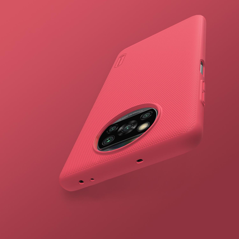 Etui Nillkin Frosted Shield dla Xiaomi Poco X3 NFC/ X3 PRO  - Zalety, które pokochasz. Zostań z serią Frosted na dłużej!